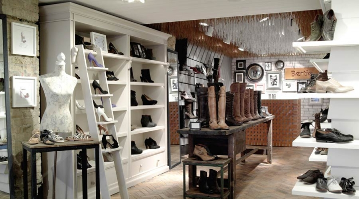 Bertie shop design by four by two
