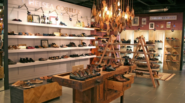 Chelsea boutique pop-up store by four-by-two