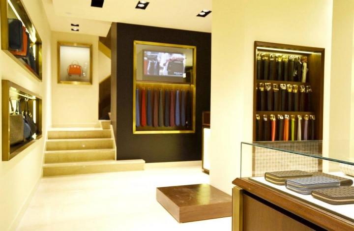 Serapian Milano boutique by Laboratorio 83, Rome – Italy