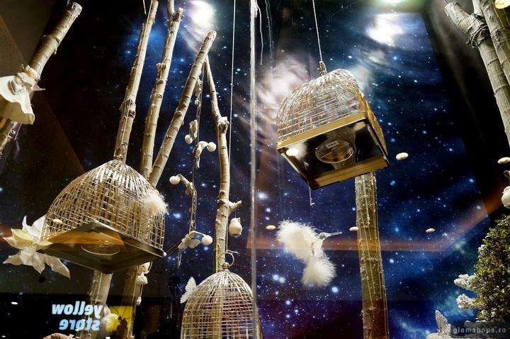 Simona Shop - Best Christmas windows display Bucharest 2013