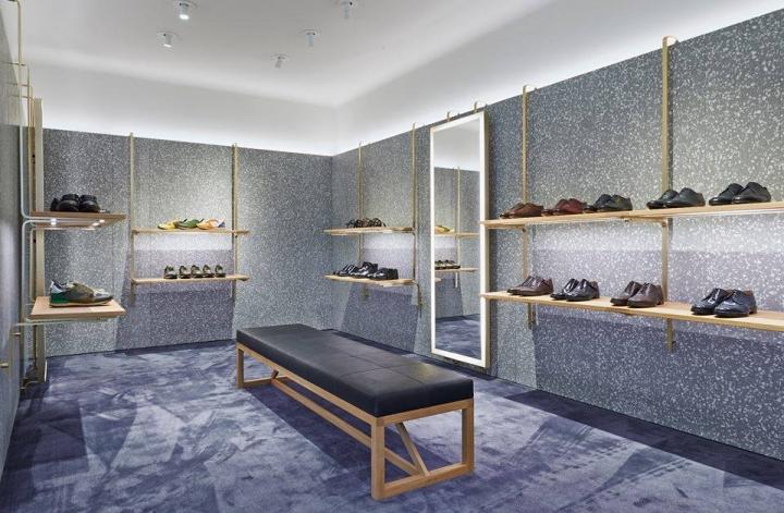 """New Man"" Valntino flagship store Paris"