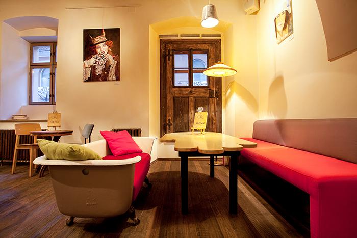 Colage cafe in Brasov by Manuel Teicu