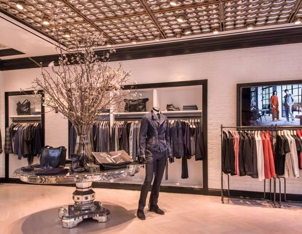John Varvatos new flagship store  New York