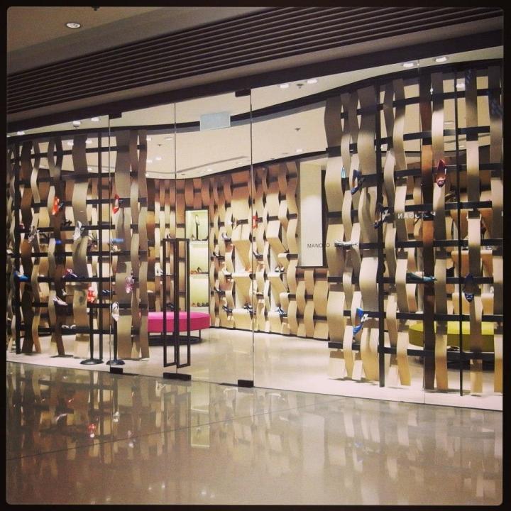 Manolo Blahnik store in Hong Kong