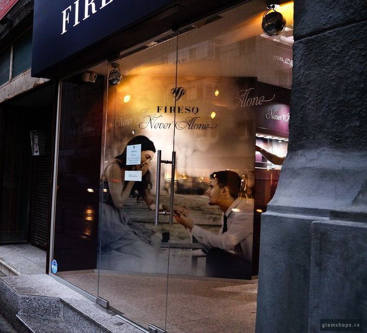 Firesq jewelry shop in Bucharest by Glamshops