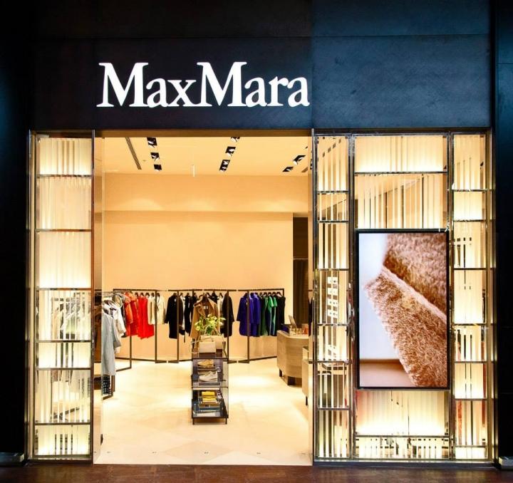 Max Mara store in Copenhagen Airport