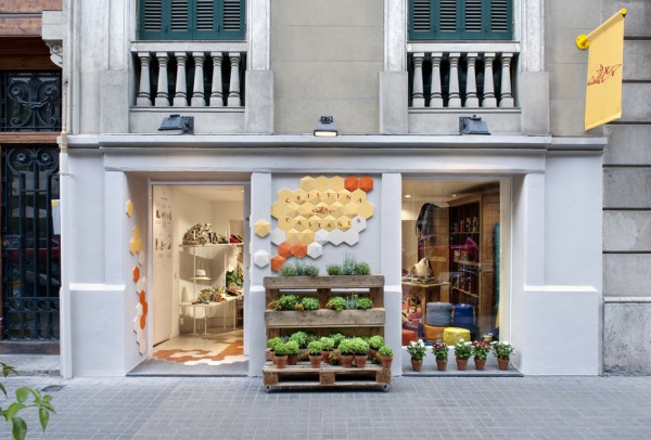 New Castañer store in Barcelona