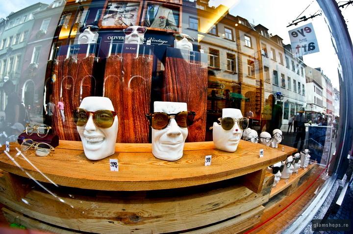 Eye and art optic store in Heidelberg