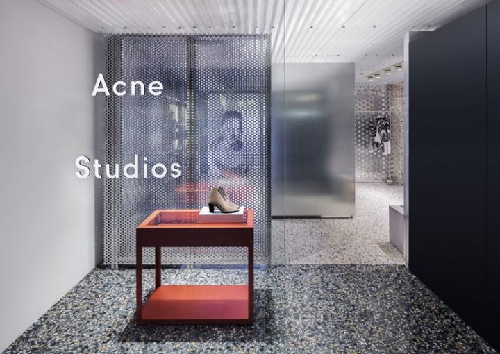 acne studio opening in Hong Kong