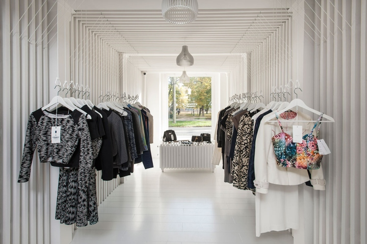 Emmaroz store by Kiss Miklós, Szeged – Hungary