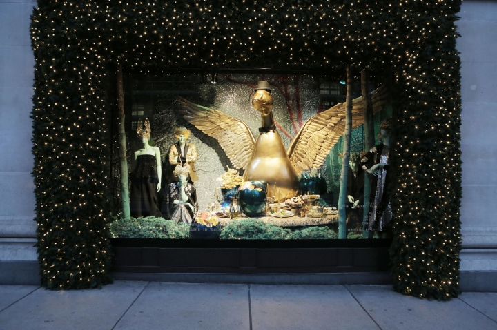 Selfridges windows display 2014 Christmas