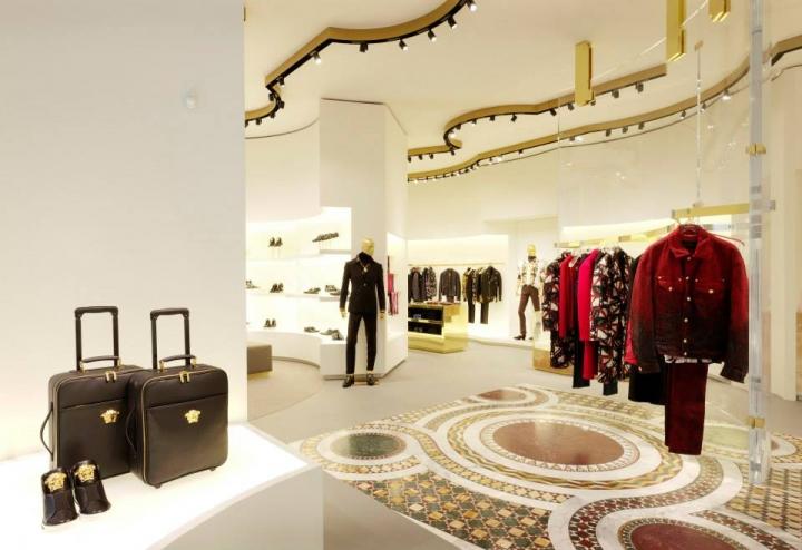 Versace boutique in Dusseldorf