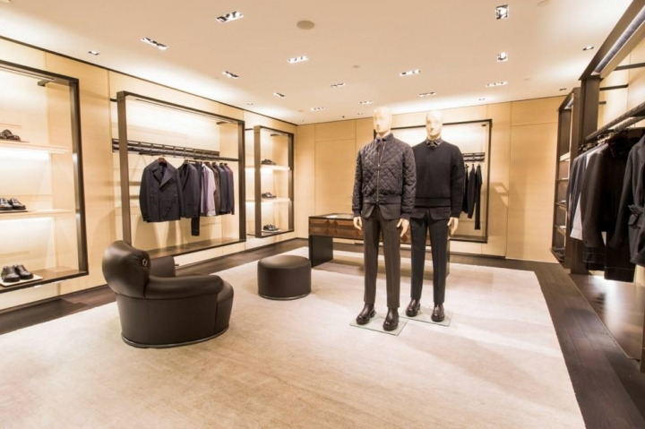 Ermenegildo Zegna's first flagship store Singapore at Paragon