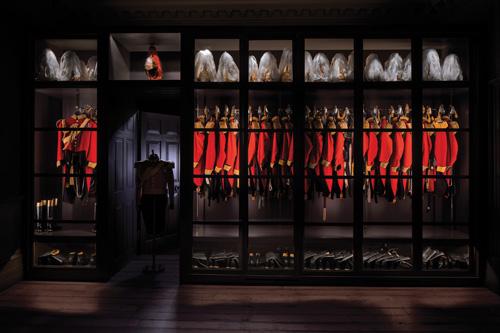 Gieves & Hawkes flagship store renovations by Interior designer Teresa Hastings