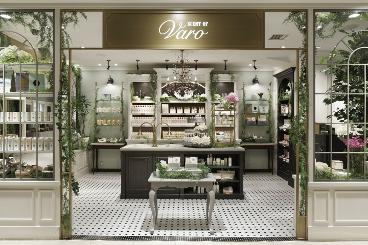 Scent of Varo store by acca Inc.