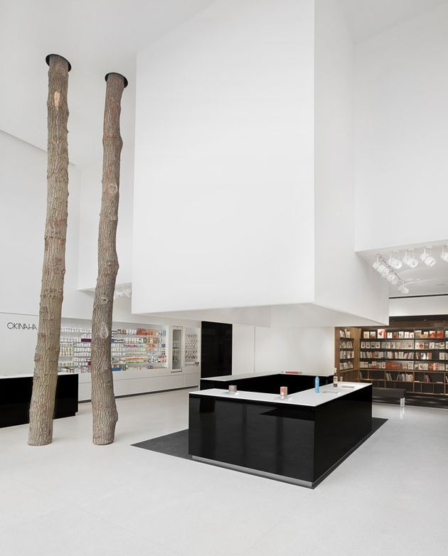 Okinaha Store Interior by Coast and As-Built Architects