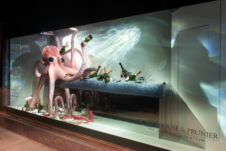 Harrods - Stealing Beauty Window Display by Millington Associates