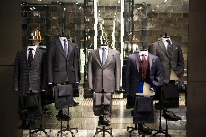 Holt Renfrew Men store in toronto by  Janson Goldstein