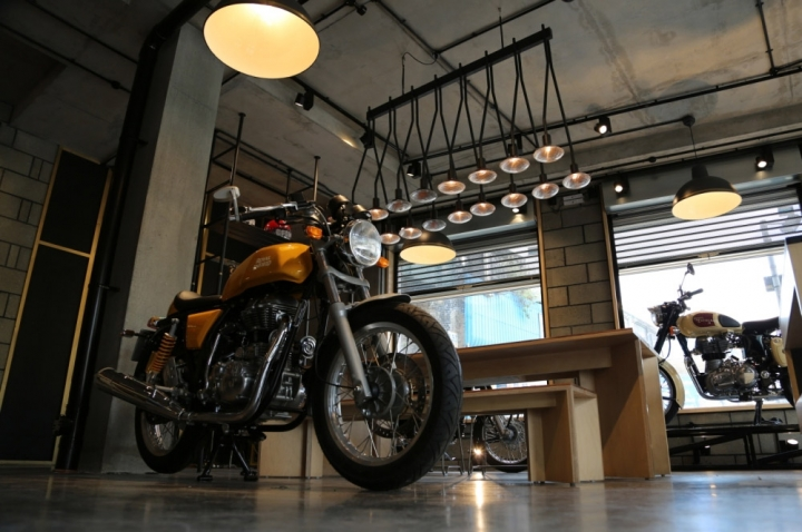 Royal Enfield flagship store in London