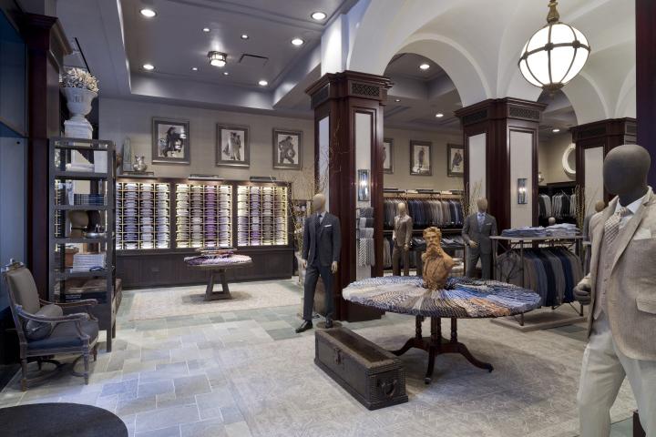 Joseph Abboud Flagship Store by Jeffrey Hutchison & Associates