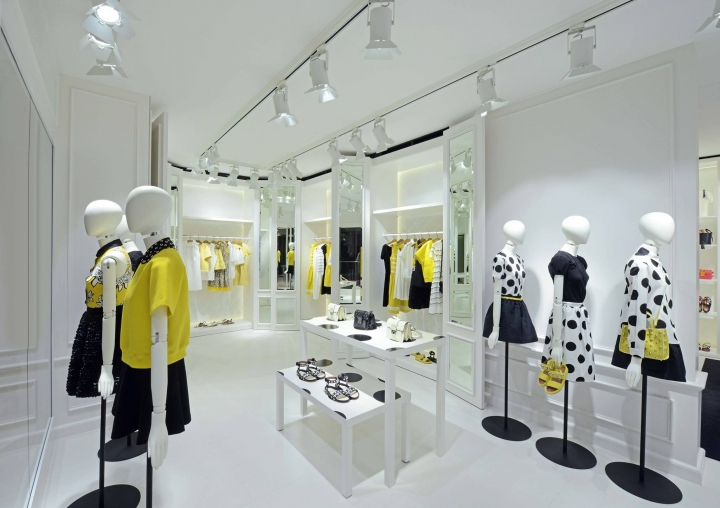 RED Valentino store opening in Singapore