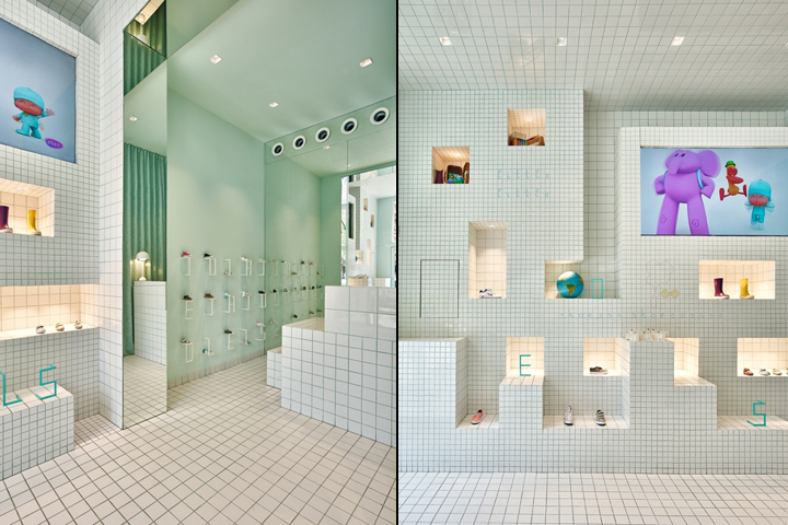 Little Shoes Shop by Nabito Architects, Barcelona