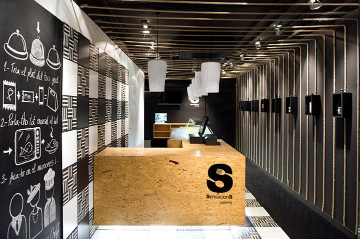 Sensacions restaurant by Denys & von Arend, Sabadell – Spain