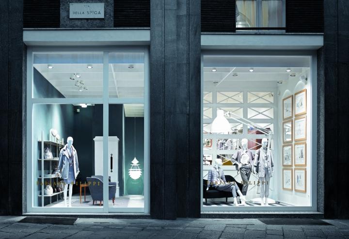 Fabiana Filippi boutique in Milano by Nicola Quadri studio