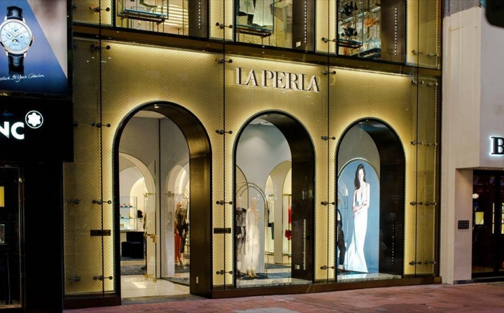 La Perla opens renovated flagship store in Hong Kong