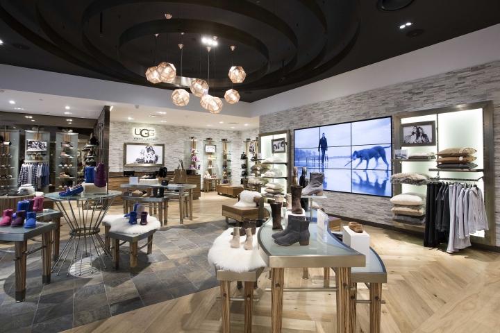 Ugg Australia flagship store by CoMa, Melbourne – Australia