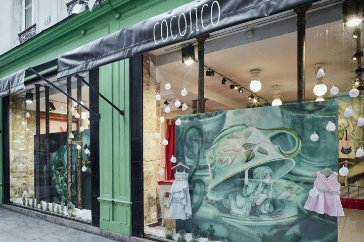 Cocolico pop-up store in paris by  Generous