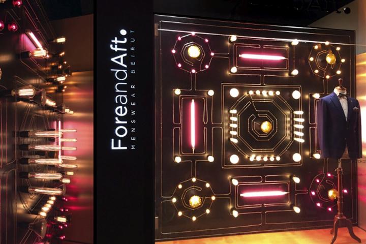 ForeandAft Windows by Joseph Barakat, Beirut – Lebanon
