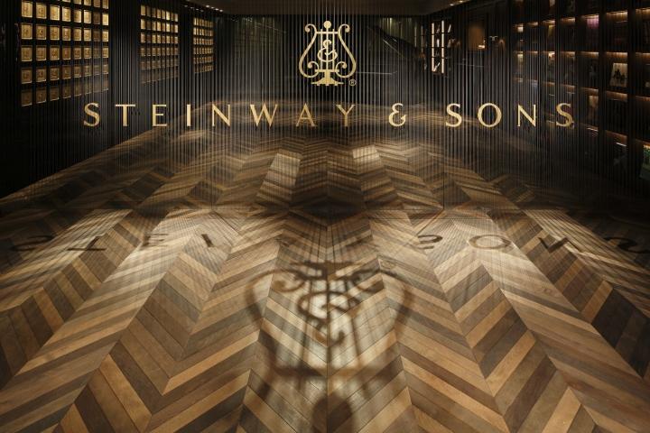 Steinway & Sons flagship store by OgataYoshiki, SALT, IkawaAtsushi, WataseIkuma, Tokyo