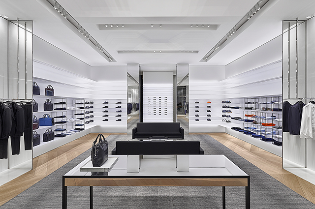 Dior Homme re-opens at Mall of the Emirates