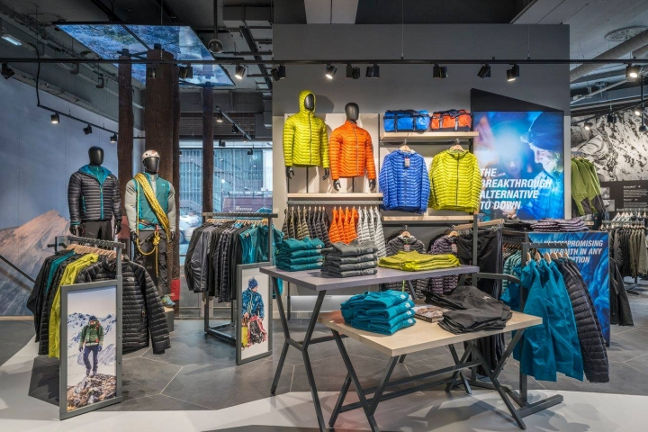 The North Face new flagship store in London Regent Street by Green Room