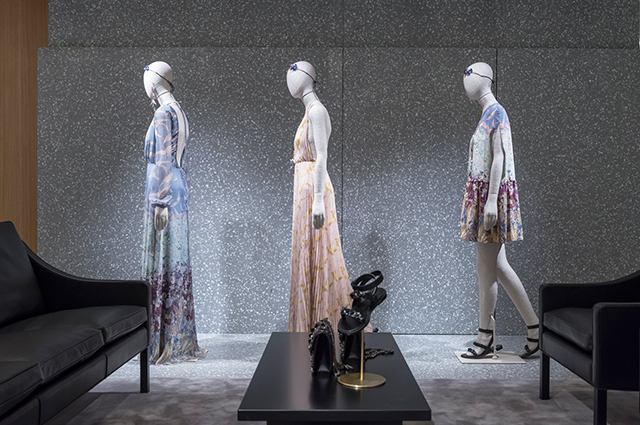 Valentino opens flagship store in London by David Chipperfield