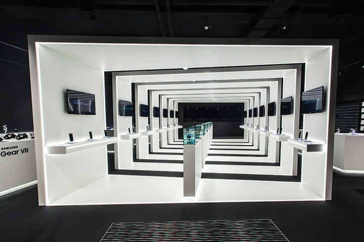 Samsung pop-up store by Cheil in Frankfurt