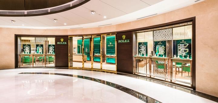 Rolex Marina Square Mall in Singapore
