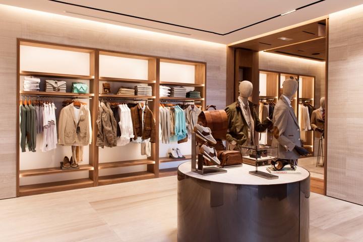 Massimo Dutti flagship store design by Sordo Madaleno Arquitectos