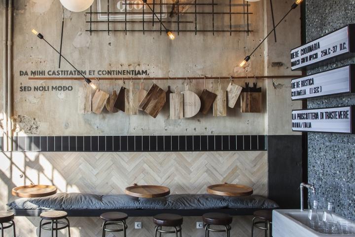 Otto e mezzo bistro bar by Ark4lab, Thessaloniki