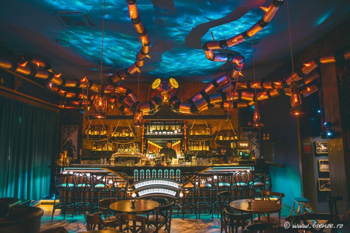 The Abyss Pub (Italy) by 6SENSE INTERIORS