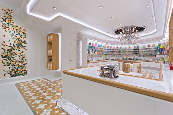 Kusmi Tea Paris flagship stores by Christopher Jenner