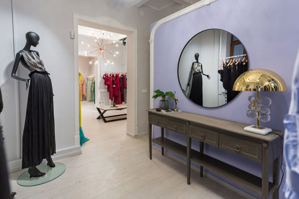 Maria Lucia Hohan showroom in Bucharest by Irina Pogonaru