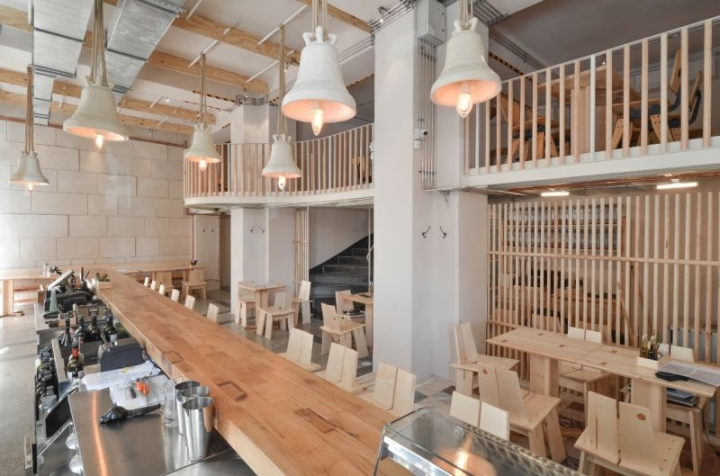 Bread and Wine restaurant by Corvin Cristian Bucharest