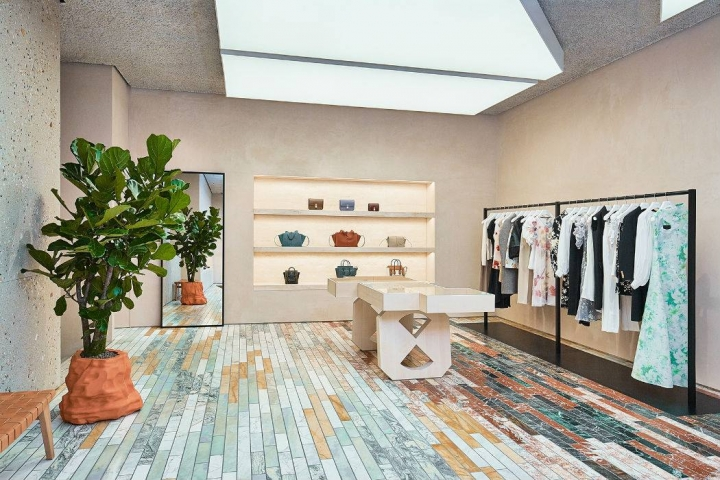 French luxury fashion house of Céline in Seoul