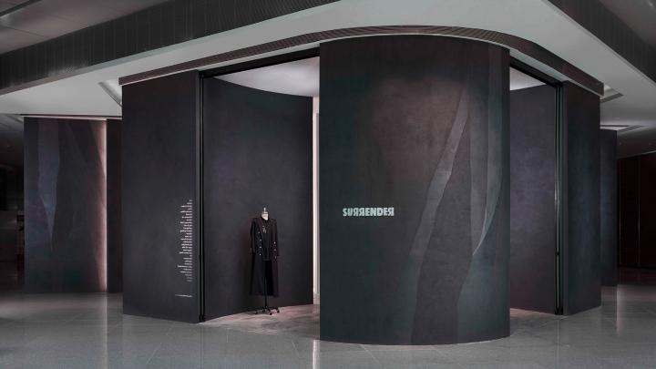 Surrender boutique Singapore - studio Asylum's design