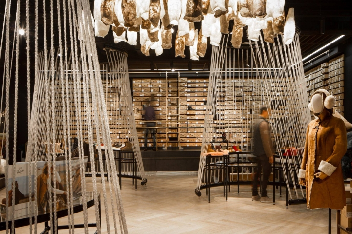 Yellow Earth's flagship store by TANDEM Design Studio