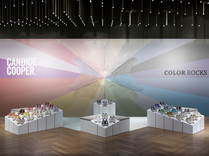 CANDICE COOPER - Color Rocks pop-up concept by dfrost