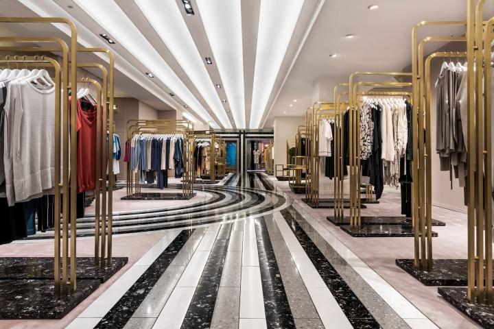 India Mahdavi Bauhaus patternfor Berlin's KaDaWe department store