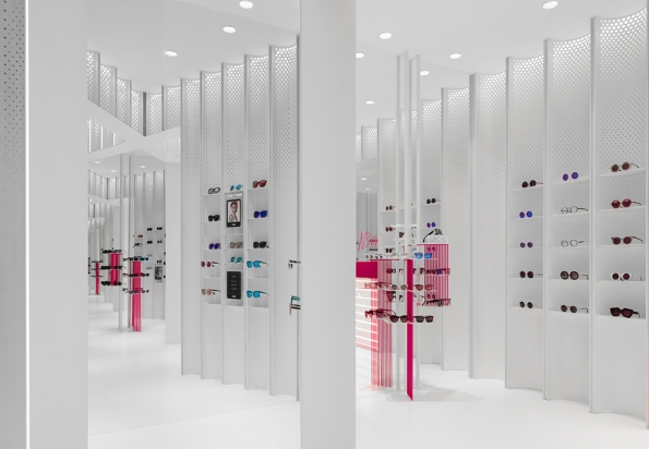 N3ON sunglasses boutique by Linehouse
